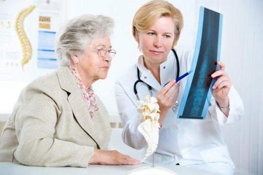 остеопороза на гръбначния стълб